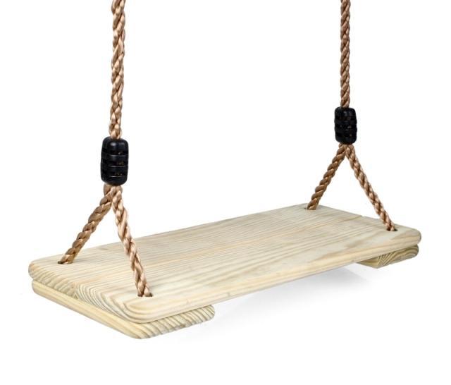 Качели на верёвке своими руками 1