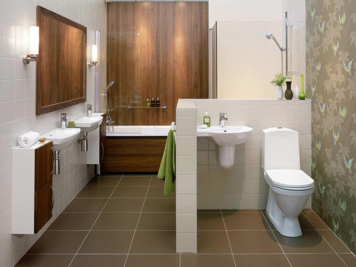 Дизайн совмещенного санузла в частном доме фото
