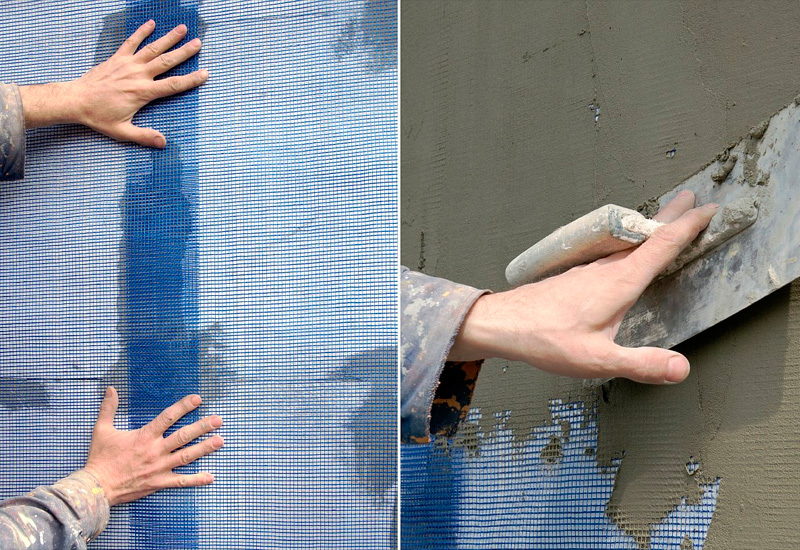Как заштукатурить пенопласт своими руками 35
