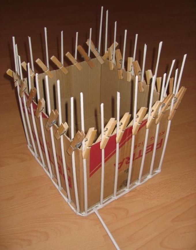 Как сделать коробки из трубочек 22
